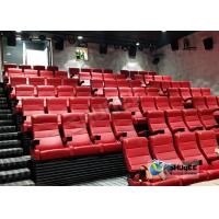 Buy cheap Customized Shopping Mall 4D Movie Theater With Ring Screen / Flat Screen product