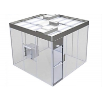 Buy cheap Free Design Drawing ISO 8 Clean Room Booth / Class 100000 softwall Clean Room product