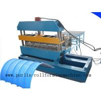 Buy cheap 7.5KW Hydraulic Bending Machine / Pipe Rolling Machinery For 0.7mm - 1.5mm Cable Tray product