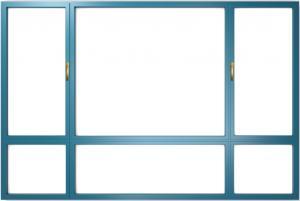 Buy cheap Modern Aluminium Casement Windows Slide And Swing SoundProof product