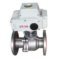 Electric stainless steel lined fluorine ball valve