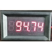 China DC LED Digital Mini voltage meter panel 100V high accuracy 0.01V wholesale