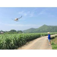Buy cheap 20 Hectare Per Day UAV Agricultural Spraying Gasoline Powered Unmanned Flybarless RC Helicopter product