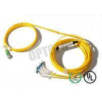 Buy cheap LC UPC Fiber Optic Y Cable 2x4 Twist Connector , Length Customized product