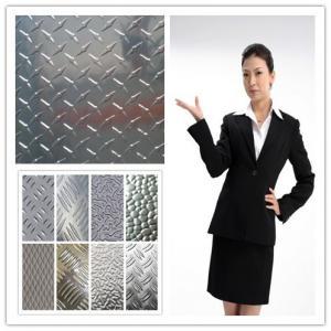 Buy cheap Cold Rolling 1100 3003 Aluminum Tread Plate Aluminium Checker Sheet Metal product
