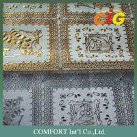 China Nice Colorful PVC Tablecloth Pretty Surface Handle Soft With Much Designs Much Thickness wholesale