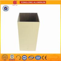 Buy cheap Rectangle Shape Powder Coated Aluminium Extrusions Strong Adhesion product