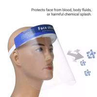 Buy cheap Lightweight Disposable Face Shield Comfortable To Wear Anti Fog  Heat Resistance product