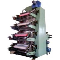 Buy cheap 4 Color Flexo Printing Machine With Gear Transmission, stable product