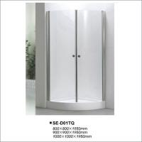 Buy cheap Simple Sliding Door Shower Enclosures with Quadrant Tray OEM / ODM Available product