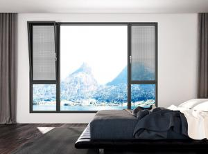 Buy cheap Triple Glazed Aluminium Tilt & Turn Windows Electrophoresis Anti Static product