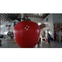 Buy cheap 3.5m Height Apple Shaped Balloons Pantone Color Matched Printing Large from wholesalers