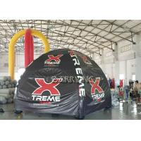 China Custom Inflatable Air Tent / Advertising Inflatable Event Tent With Logo Printing wholesale