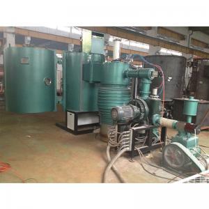 China High Capacity Double Doors Plastic Cosmetic Cap Bottle Metallic Gloss Vacuum Metallizing Machine on sale