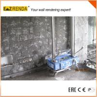 Buy cheap 0.75KW Lime Spray Machine Wall Render Machine Build Color Internal Wall product
