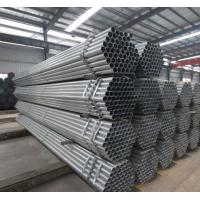 Buy cheap Schedule 80 Galvanized Steel Pipe For Water Supply , Round Galvanized Steel Tube product
