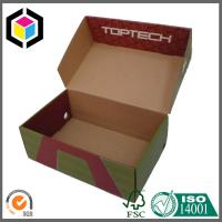 Quality Flexo Color Printing Shoes Corrugated Packaging Box; Shoes Folding Corrugated Box for sale