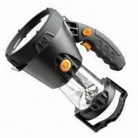 Buy cheap 3W rechargeable handheld spotlight with 5 LED lantern product