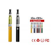 Buy cheap 650mAh 1.6ml EGO CE5 E Cigarette Tube / Health Electronic Cigarette product