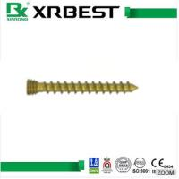 China Rearfoot Orthopedic Implants 3.5 Mm Cortical Screw For Calcaneus Fracture Treatment wholesale