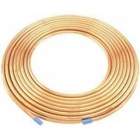 China Light weight 0.30mm Wall Heat exchanger Refrigeration Copper Tubes for vent piping on sale