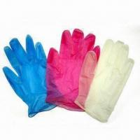 Buy cheap Disposable PVC Gloves, Suitable for Medical Use, Measures S, M, L and XL product