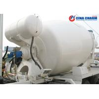 China 12cbm Ready Mix Cement Truck , 10 Cubic Meters Front Load Concrete Truck on sale