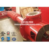 Buy cheap 2 Stage Vertical Turbine Fire Pump / Diesel Fire Fighting Water Pump High Speed product