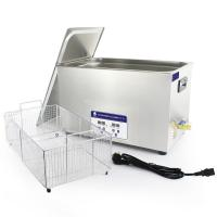 China Strong Power Fast Removing Blood 30L Digital Ultrasonic Cleaner For Dentist on sale