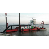 Buy cheap Geologic 1500m3/H Submersible Gold River Dredger 25m Length product