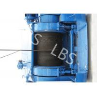 Buy cheap Mining Underground Hydraulic Crane Winch High Strength Steel With Bule / Yellow Color product