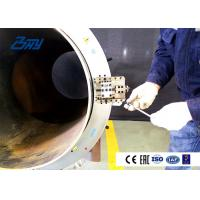 Buy cheap Clip Type Small Cold Pipe Cutting And Beveling Machine Hydraulic Out Mounted product