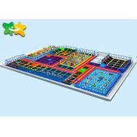 China Amusement Park Trampoline Park Equipment Air PP Material Free  Jumping Mat on sale