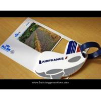 Buy cheap Custom Rubber Soft PVC airplane Luggage Tag, Bag Tag, Leather Luggage Tag product