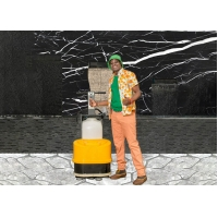 Buy cheap 310*550 mm Single Phase 220V Granite Terrazzo Concrete Floor Polisher For Hotel product