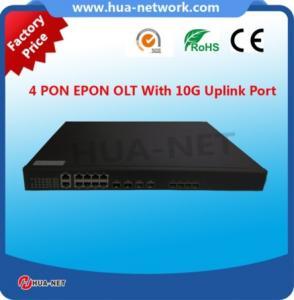 Buy cheap Capa 3 OLT de los puertos 10G EPON/GEPON del precio BDCOM OLT 4 PON de la India con el chipset de la cortina en el precio bajo product