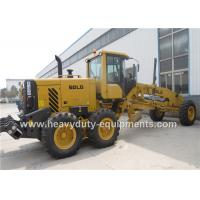 Buy cheap DEUTZ Engine Road Construction Equipment  Yellow Motor Grader Meichi Axle Drive product