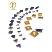 Buy cheap Hard Metal Tungsten Carbide Inserts For Machining Steel / Cast Iron 120-200M / Min product