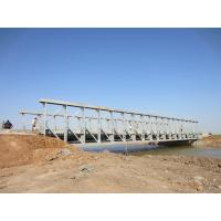 Buy cheap Commercialassembly steel temporary pedestrian bridge High Stiffness product