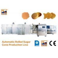 Buy cheap Eco - Friendly Ice Cream Cone Production Line High Speed 400 Standard Cones / Hour product