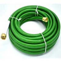 China brass connector cloth pvc silicone natural double latex garden hose on sale