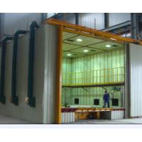 Buy cheap CE Approved Indoor Air Sand Blasting Room With Abrasive Storage Hopper product