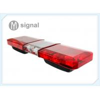 Buy cheap Red - Blue - Red Emergency LED Light Bar U Shape Bracket 1122mm * 300mm * 152mm product