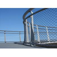 Buy cheap High Strength Metal Netting Mesh , SS 304 316 Wire Net Fencing For Schools product