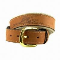 Buy cheap Leather Belt, Available in Various of Designs product