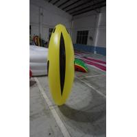 Buy cheap 1.2m long Fruit Shaped Balloons , Digital Printing Inflatable Banana product