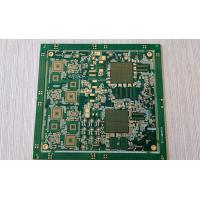 Buy cheap Multilayer Green soldermask FR-4 high precision PCB with immersion Gold product