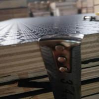 Buy cheap 12mm Thick Anti - Slip Phenolic Faced Plywood With Double Time Hot Press product