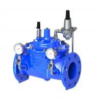 Buy cheap Blue Diaphragm Water Pressure Reducing Valve With Stainless Steel 304 Pilot product