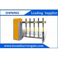 6S 220v Smart Traffic Barrier Gate , Retractable Paking Boom Barriers